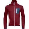 Ortovox M's Fleece Jacket Dark Blood
